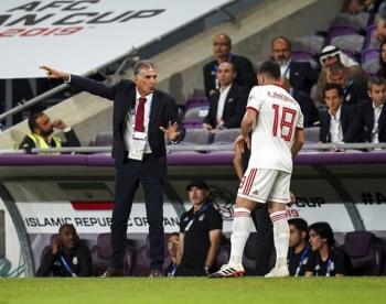 chia tay hlv queiroz doi tuyen iran nham zidane va mourinho de thay the