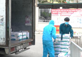 Vinamilk hỗ trợ 45.000 hộp sữa cho hơn 800 trẻ em đang cách ly