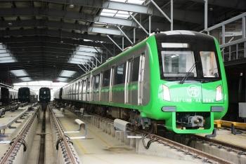 Đường sắt Cát Linh - Hà Đông vận hành thử nhà ga