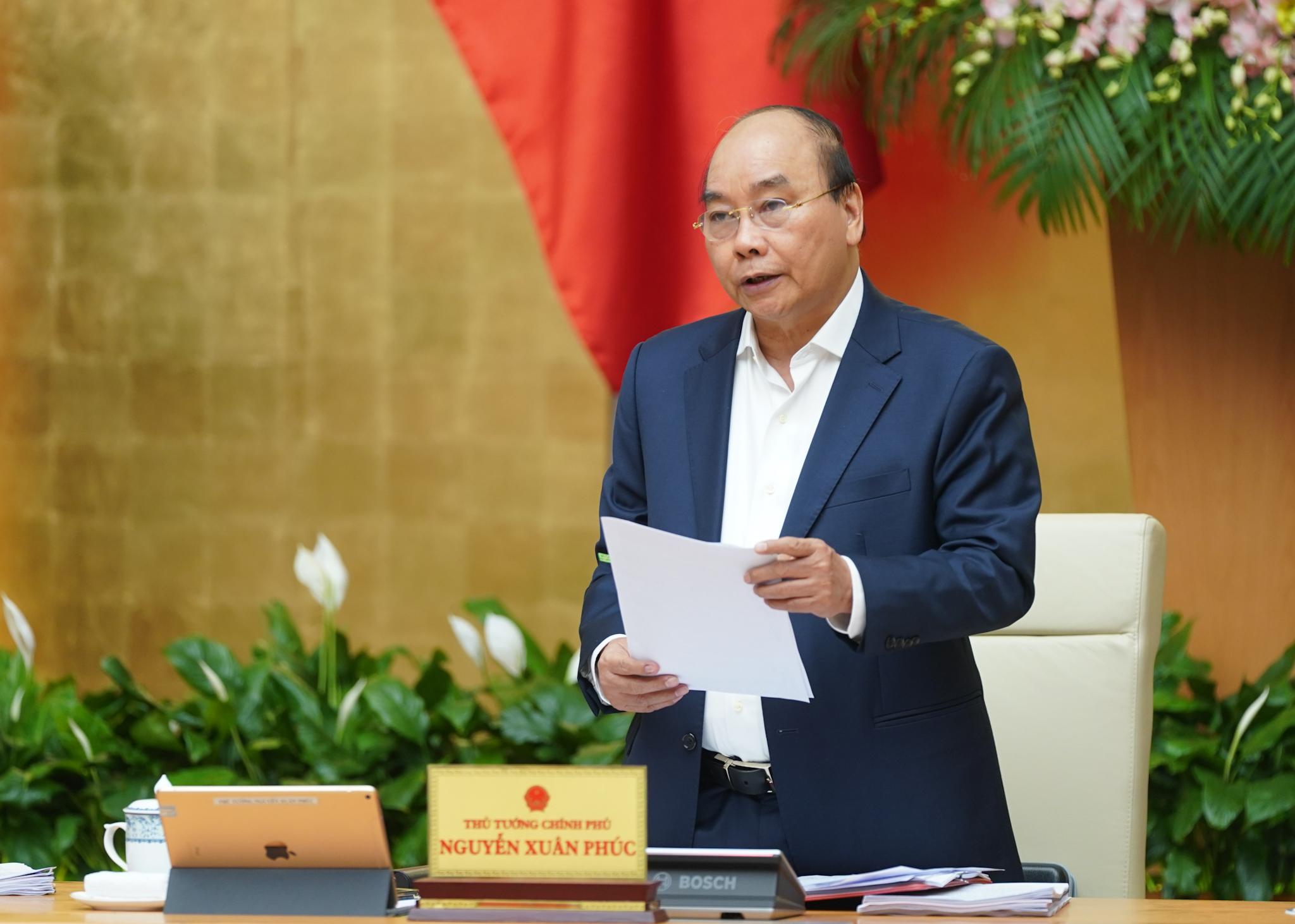 Nghị quyết phiên họp Chính phủ thường kỳ tháng 02/2020