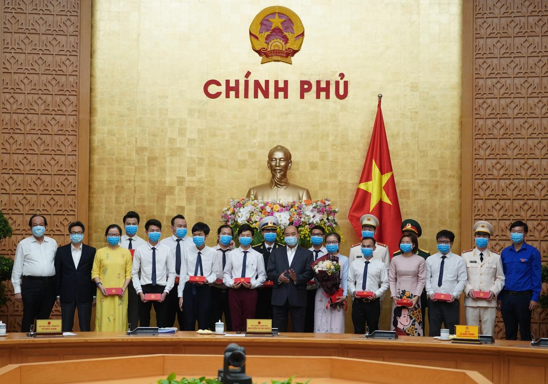 thu tuong chinh phu lam viec voi trung uong doan
