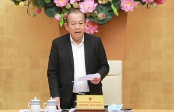 Phó Thủ tướng Trương Hòa Bình chủ trì cuộc họp về xử lý vướng mắc tại một số dự án đầu tư