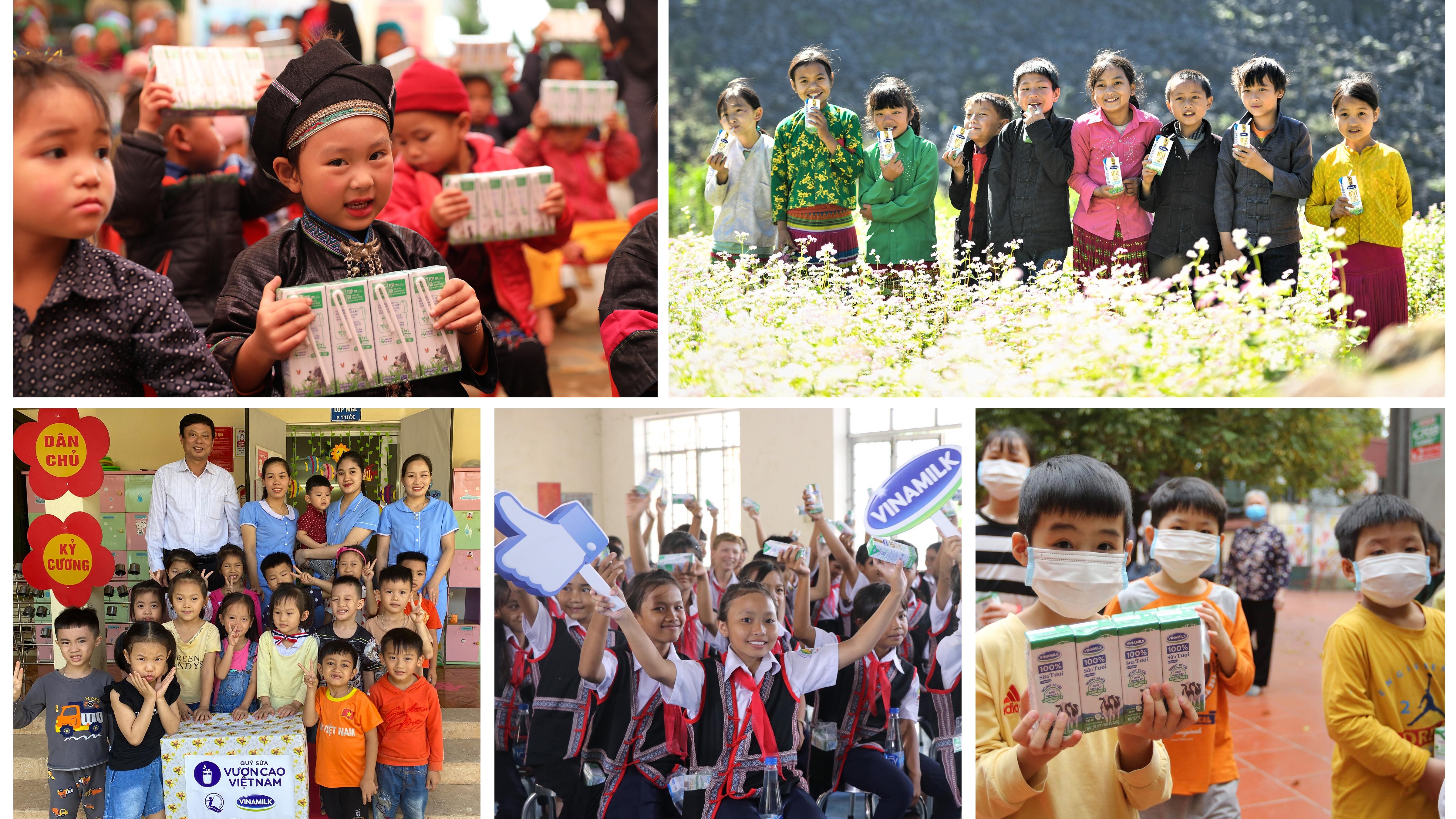 """Nhân kỷ niệm 45 năm thành lập, Vinamilk và Quỹ Sữa Vươn Cao Việt Nam khởi động hành trình 2021 với chiến dịch ý nghĩa """"Triệu ly sữa yêu thương, triệu nụ cười hạnh phúc"""""""