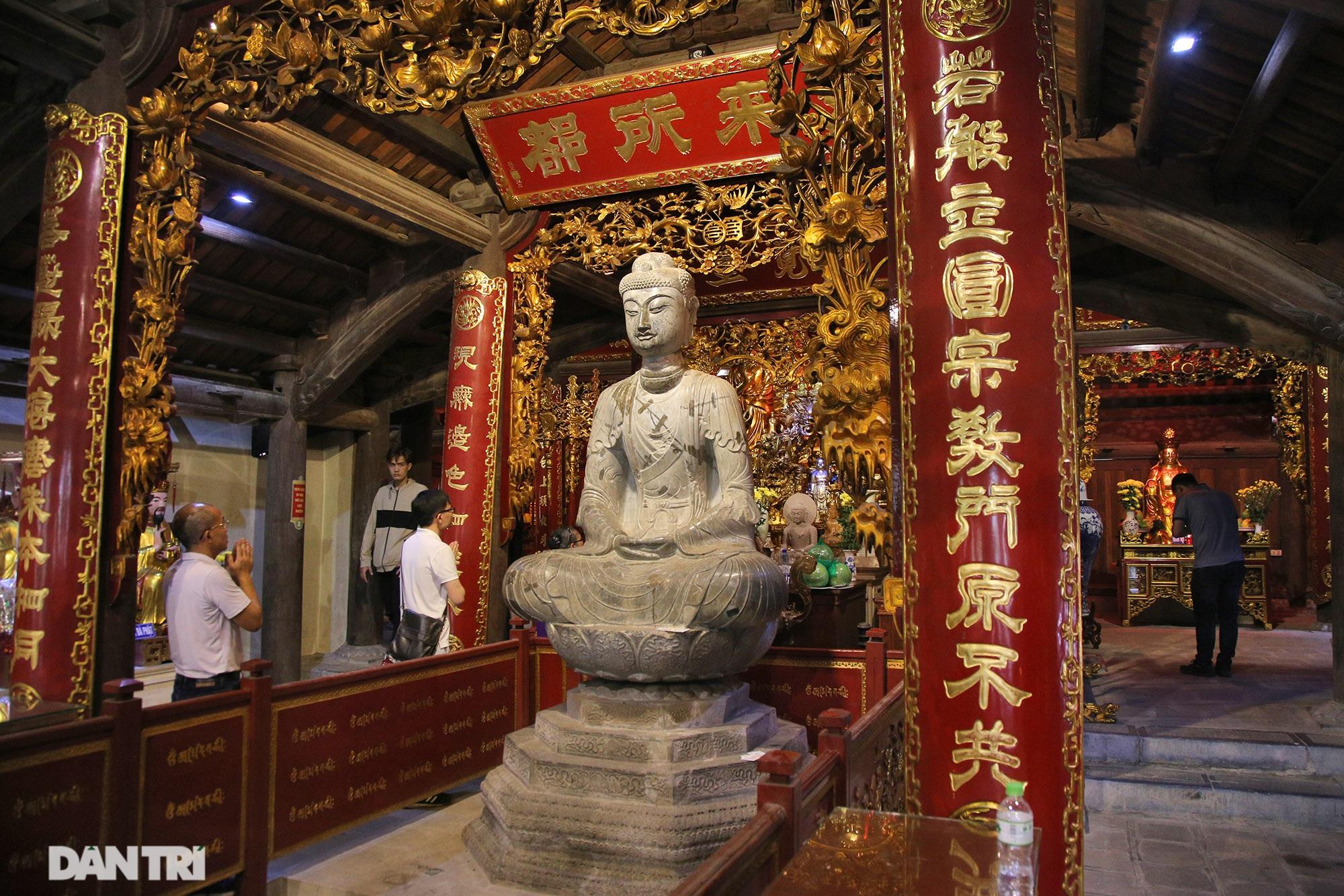 Kỳ lạ 10 linh thú đá nghìn năm tuổi canh gác chùa Phật Tích - 1