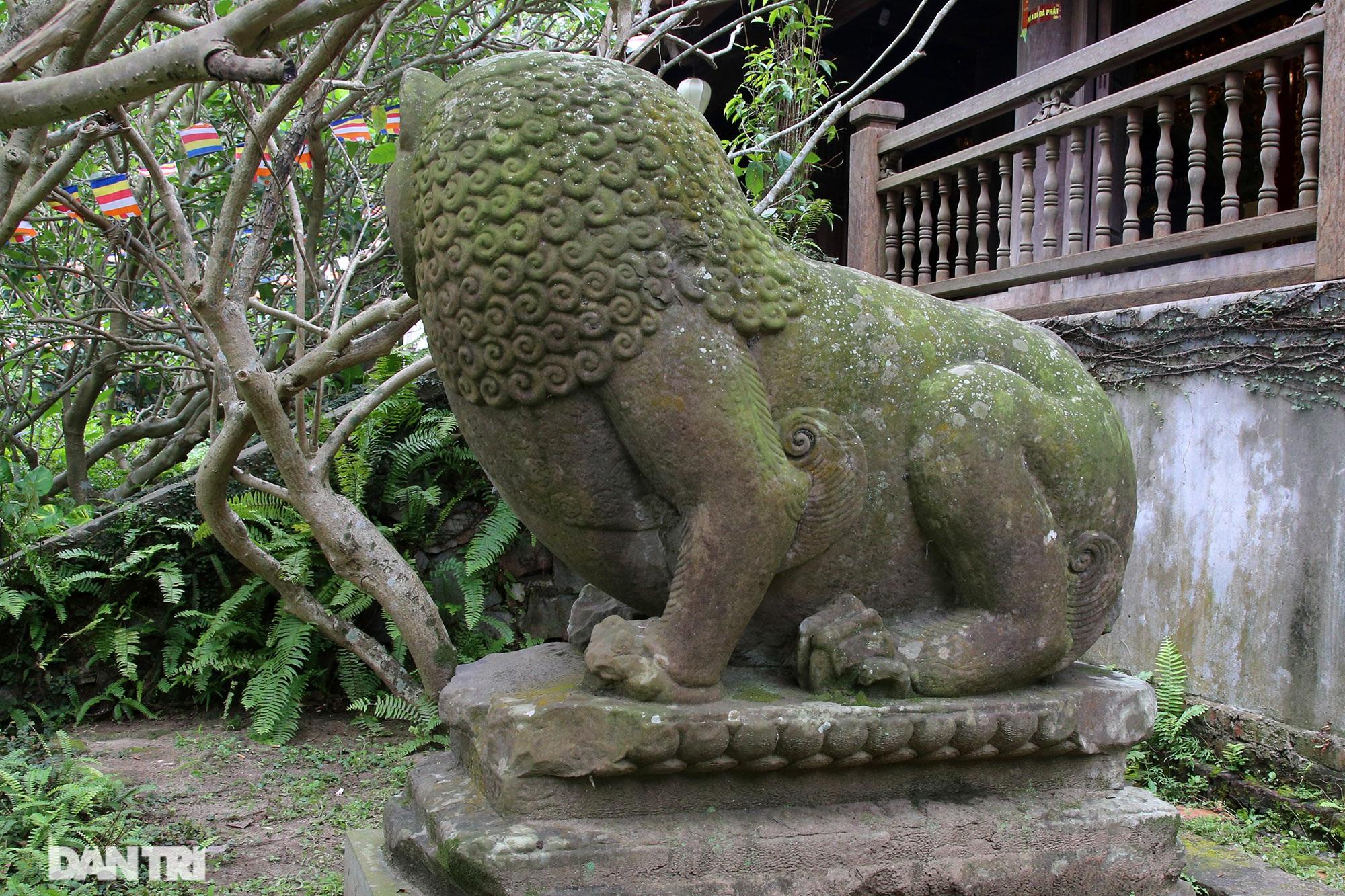 Kỳ lạ 10 linh thú đá nghìn năm tuổi canh gác chùa Phật Tích - 13