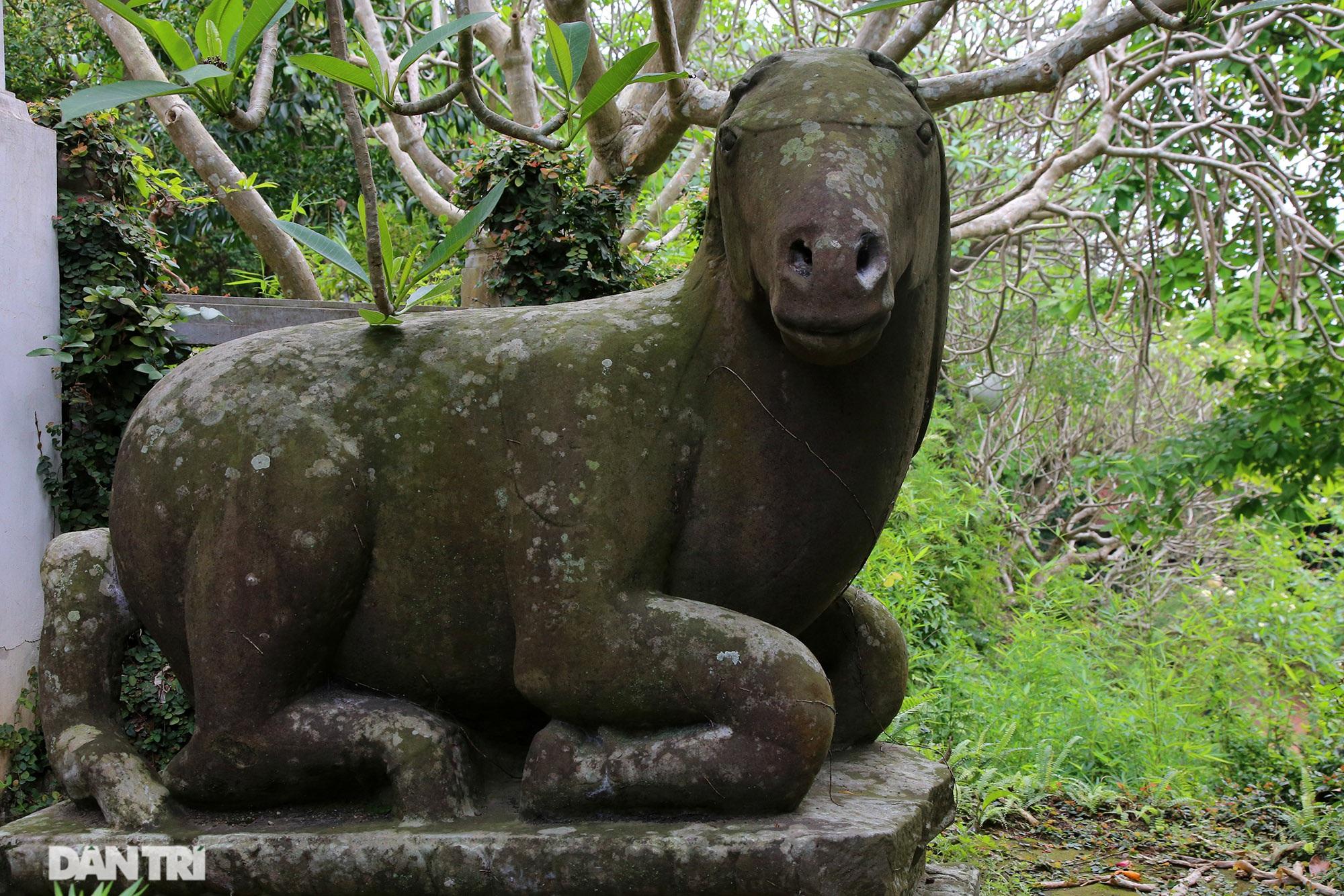 Kỳ lạ 10 linh thú đá nghìn năm tuổi canh gác chùa Phật Tích - 8