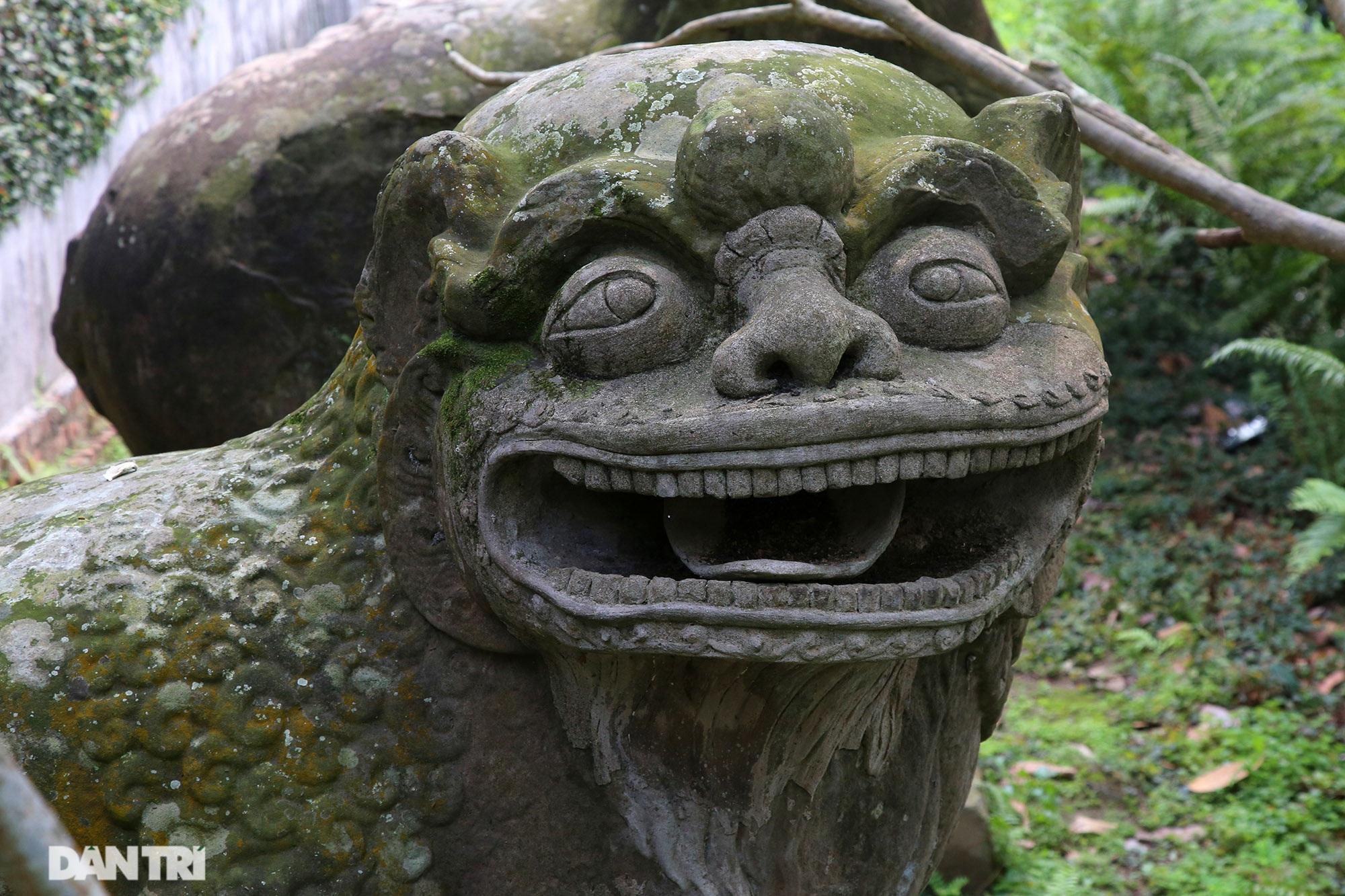 Kỳ lạ 10 linh thú đá nghìn năm tuổi canh gác chùa Phật Tích - 10