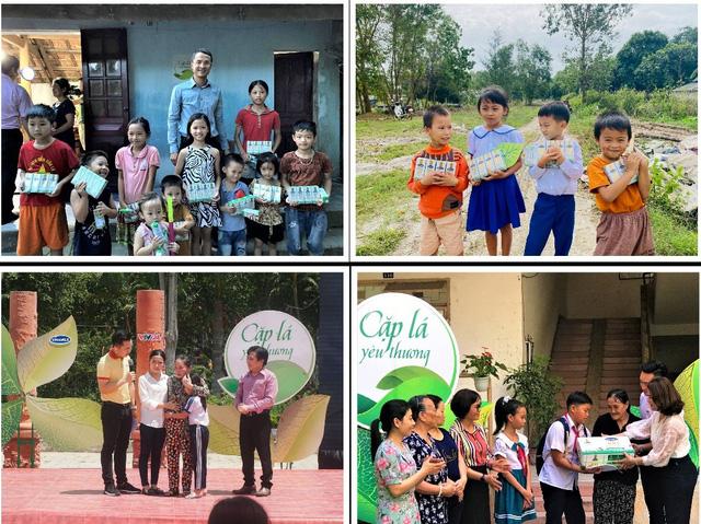 Vinamilk cùng Cặp lá yêu thương tiếp sức đến trường cho trẻ em tỉnh Ninh Bình - Ảnh 5.