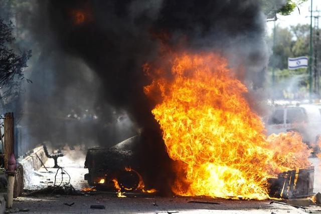 Dải Gaza chìm trong khói lửa, thùng thuốc súng Trung Đông nóng trở lại - 12