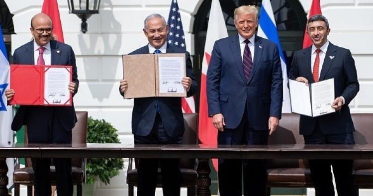 Israel, UAE và Bahrain ký Hiệp định Abraham với sự chứng kiến của Tổng thống Mỹ Trump