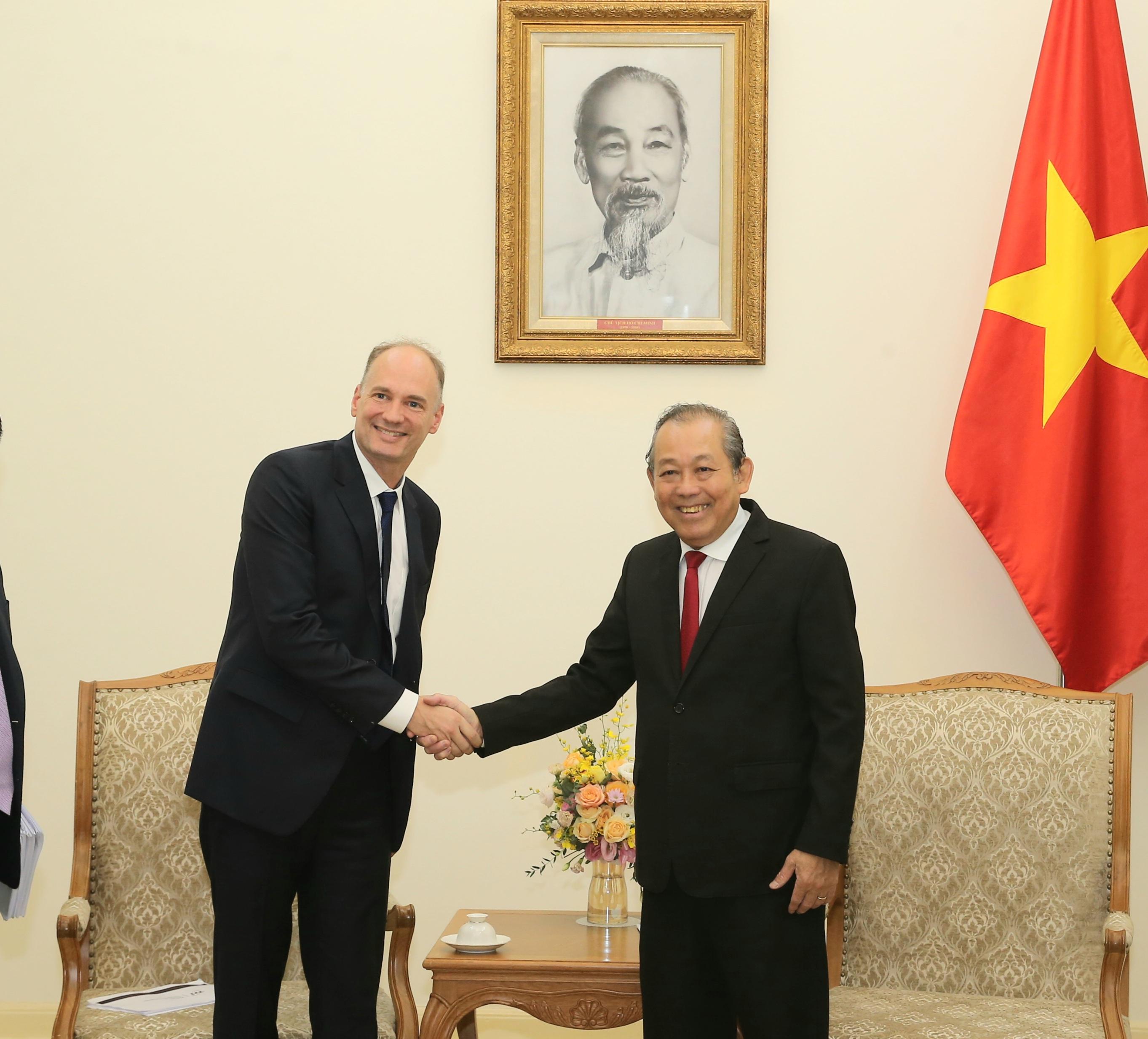 Phó Thủ tướng Thường trực tiếp Phó Chủ tịch điều hành Tập đoàn TTI