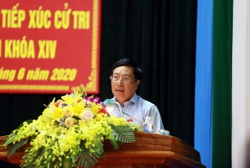 Phó Thủ tướng Phạm Bình Minh tiếp xúc cử tri