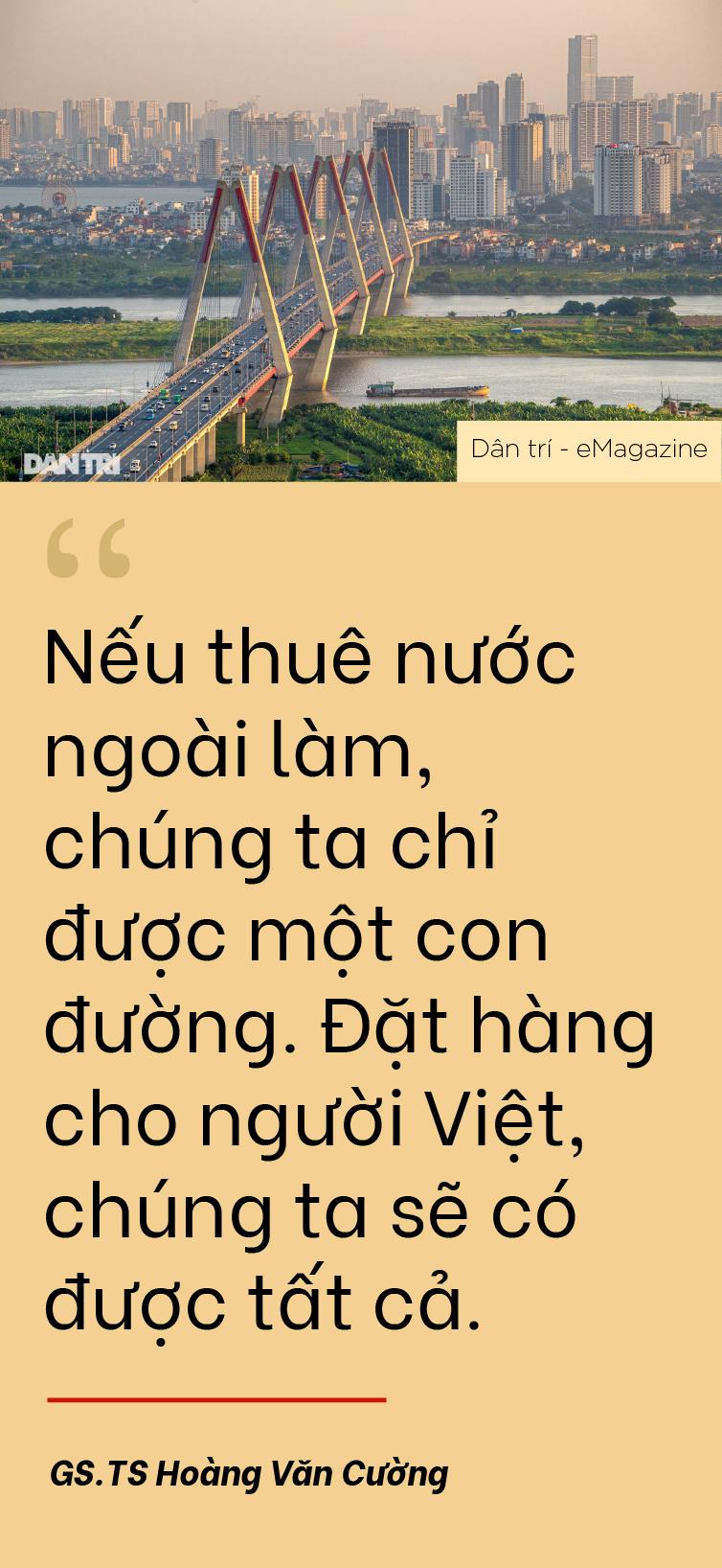 GS.TS Hoàng Văn Cường: Việt Nam muốn giàu mạnh, sứ mệnh đặt lên vai ai? - 8