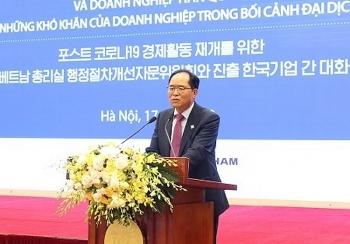 Doanh nghiệp Hàn muốn nới lỏng cách ly khi sang Việt Nam làm việc