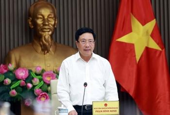 Phó Thủ tướng Phạm Bình Minh chủ trì cuộc họp Tổ công tác thúc đẩy hợp tác đầu tư nước ngoài