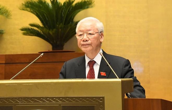 Tổng Bí thư nói về tinh thần phụng sự với các đại biểu Quốc hội khóa mới
