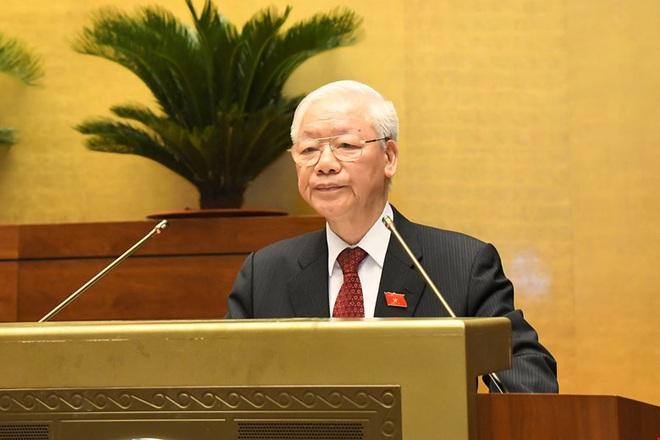 Tổng Bí thư nói về tinh thần phụng sự với các đại biểu Quốc hội khóa mới - 1