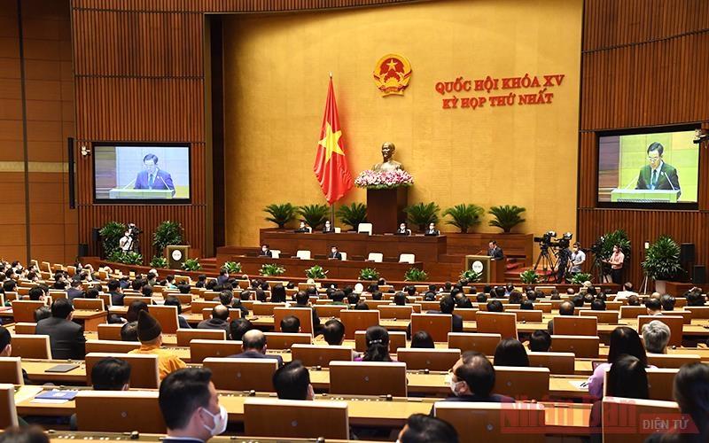 Thông cáo số 9, Kỳ họp thứ nhất, Quốc hội khóa XV
