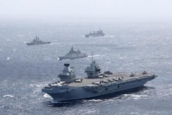 Nhóm tàu chiến Anh tiến vào Biển Đông, hàm ý đến nước nào?