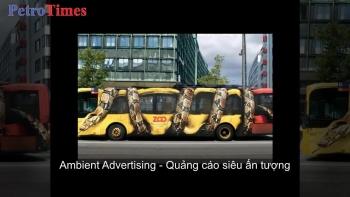 [VIDEO] Ambient Advertising - Quảng cáo siêu ấn tượng