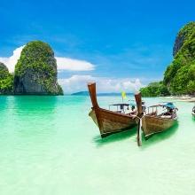 video krabi chon thien duong hut khach cua thai lan