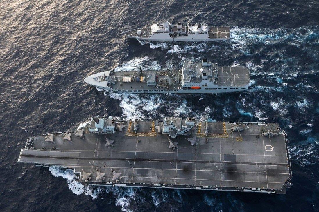 Đồng minh và đối tác của Mỹ điều tàu chiến tới Biển Đông - Trung Quốc có 'ngồi trên đống lửa'?