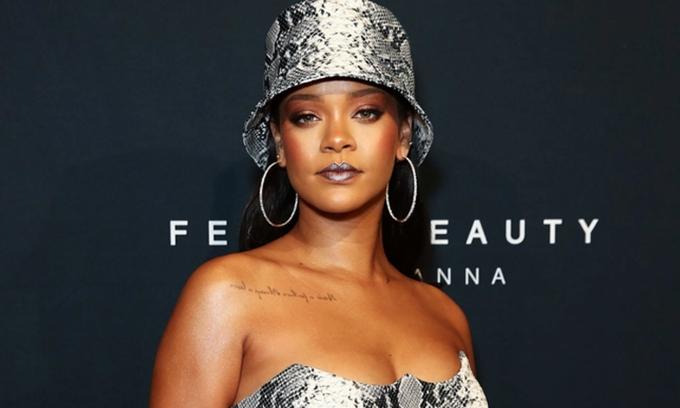 Nữ ca sĩ Rihanna. Ảnh: Economic Times.