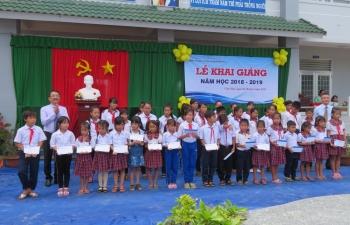 Phú Quốc POC trao học bổng cho học sinh nghèo tỉnh Kiên Giang nhân dịp năm học mới