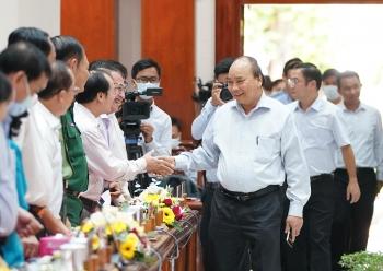 Thủ tướng Nguyễn Xuân Phúc làm việc với các địa phương ĐBSCL về ứng phó hạn hán, xâm nhập mặn