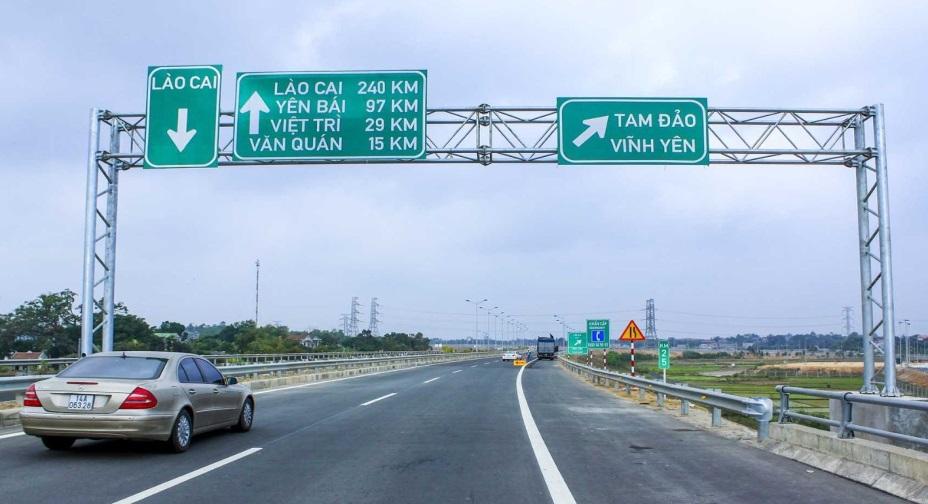 Vĩnh Phúc đầu tư nút IC2, IC5 đường cao tốc Nội Bài – Lào Cai