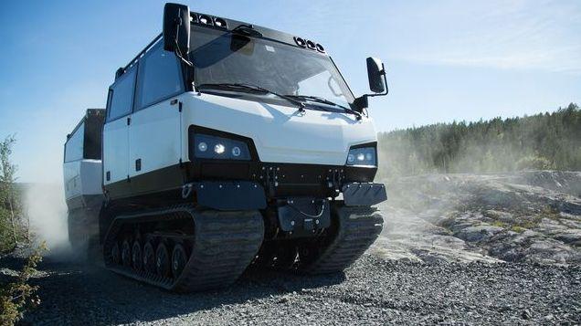 Mỹ mang thiết giáp địa hình Beowulf BVS10 đến Bắc Cực cạnh tranh với Nga
