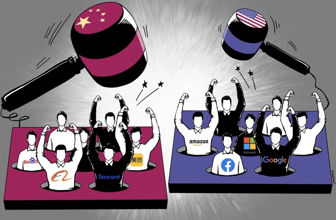 """Đòn """"chí tử"""" cho các tập đoàn số Trung Quốc"""