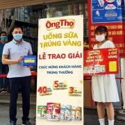 Sữa đặc Ông Thọ mừng sinh nhật 45 năm với cơn mưa vàng đã đến với nhiều khách hàng may mắn