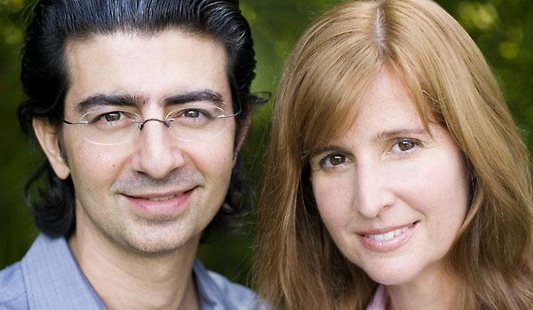 Hai vợ chồng nhà Omidyar: Pierre và Pamela.