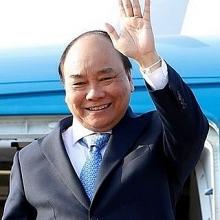 thu tuong len duong tham du cuoc gap cac nha lanh dao asean va tham indonesia