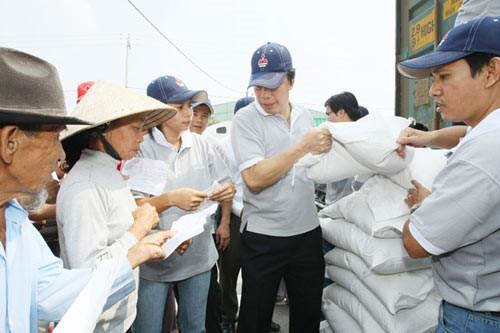 Xuất cấp gạo cho tỉnh Bình Định
