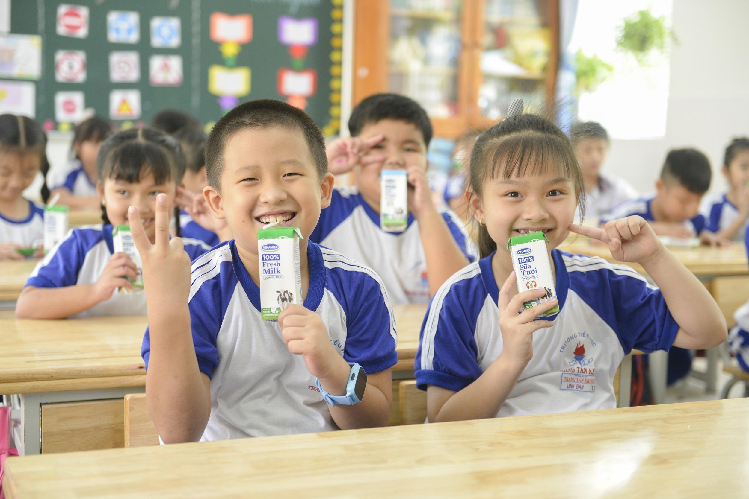 Chương trình Sữa học đường   Nỗ lực chăm sóc dinh dưỡng vì sự phát triển của trẻ em trên toàn cầu