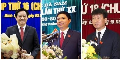 Thủ tướng phê chuẩn nhân sự 4 tỉnh