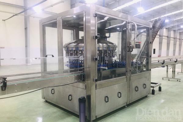 Nhà máy sản xuất Nước mắm truyền thống CANA, hoàn toàn không có sự hiện diện của người lao động