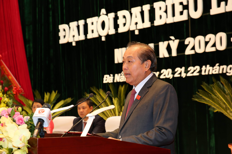Phó Thủ tướng Thường trực dự Đại hội đại biểu Đảng bộ Đà Nẵng