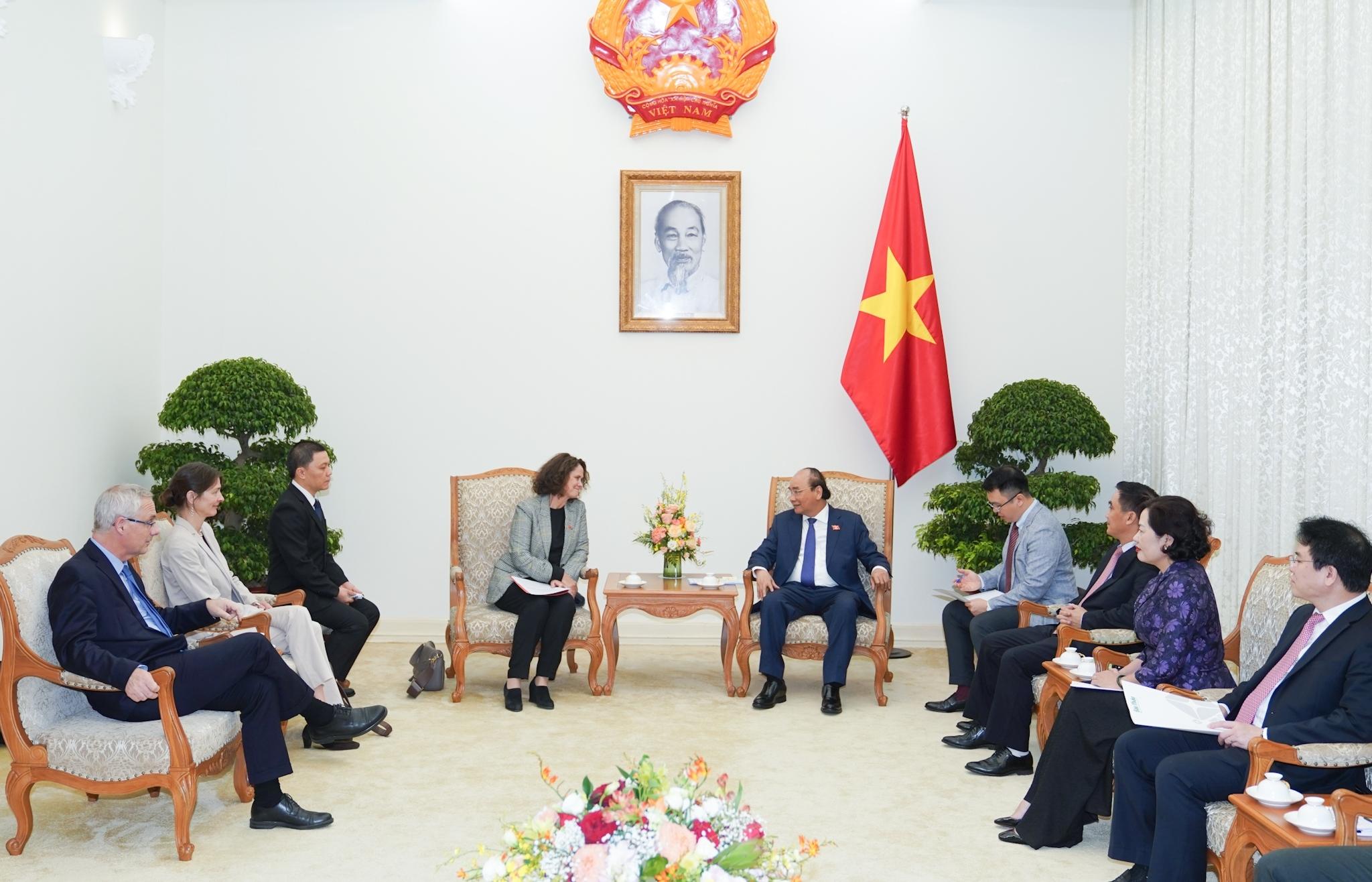 Thủ tướng tiếp Giám đốc WB tại Việt Nam