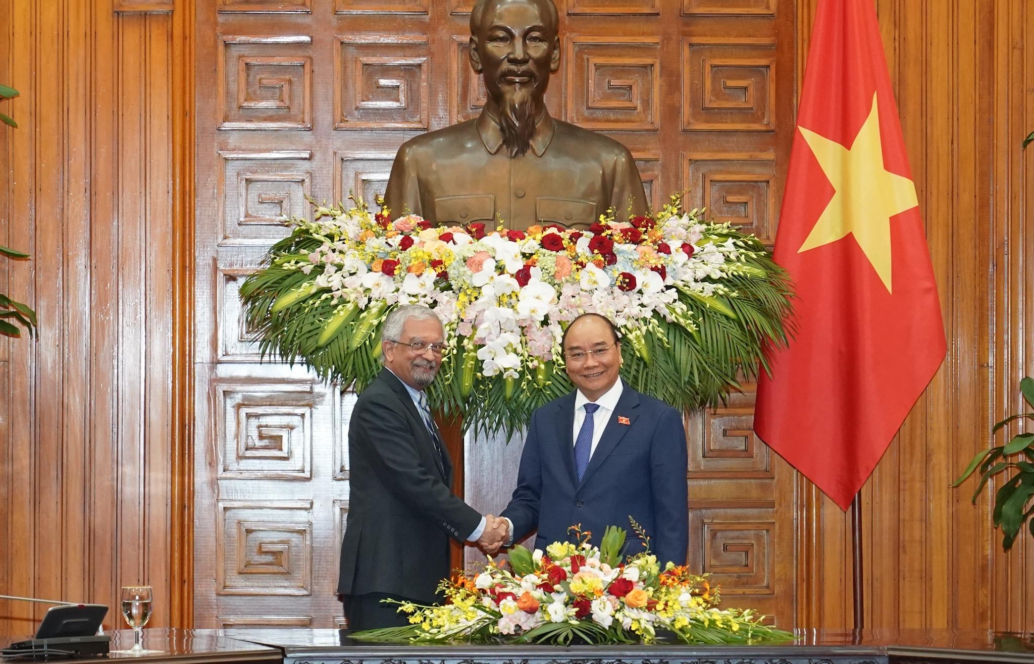 Thủ tướng tiếp Điều phối viên LHQ và Trưởng đại diện các tổ chức LHQ tại Việt Nam