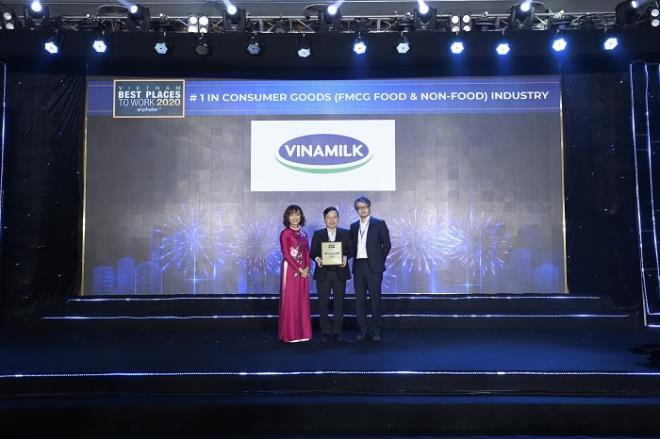Vinamilk lần thứ 3 liên tiếp được bình chọn là nơi làm việc tốt nhất Việt Nam - 7