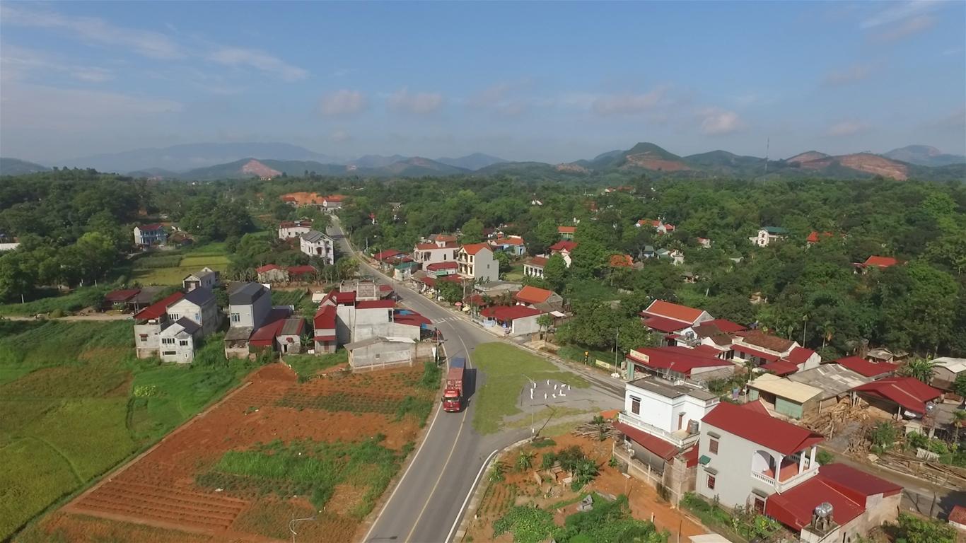 2 huyện, thành phố của tỉnh Phú Thọ cán mốc nông thôn mới