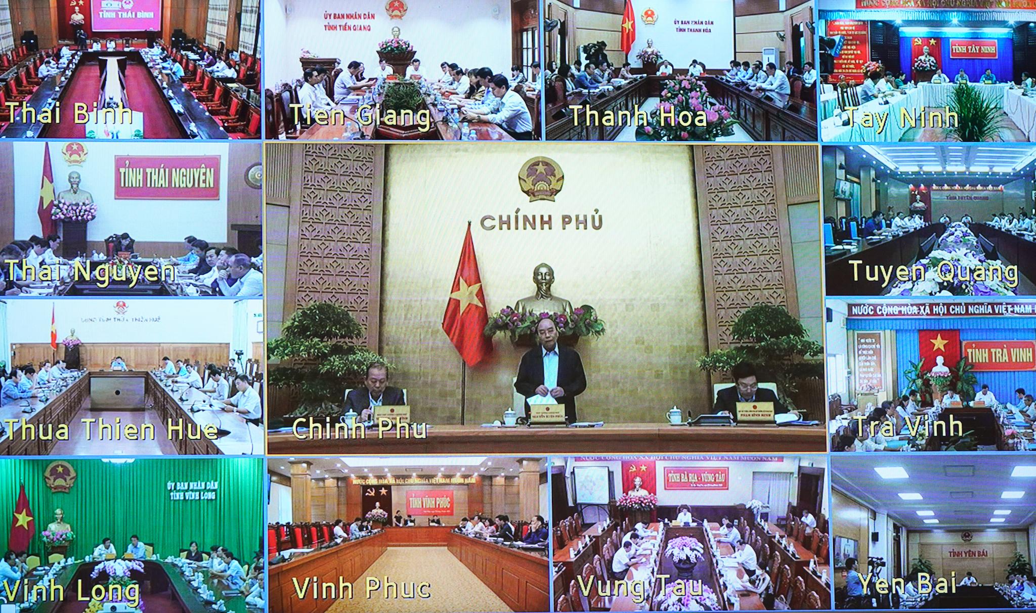Thủ tướng chủ trì Hội nghị trực tuyến toàn quốc về giải ngân vốn ODA