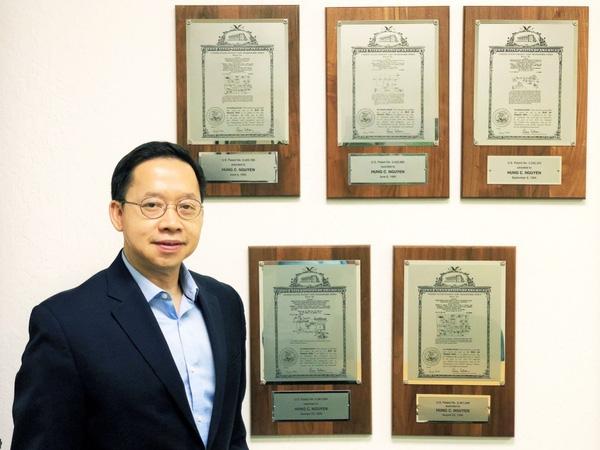 Ông Nguyễn Cao Hùng cùng bằng sáng chế được công nhận