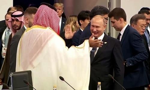 putin tuoi cuoi dap tay voi thai tu arab saudi tai g20