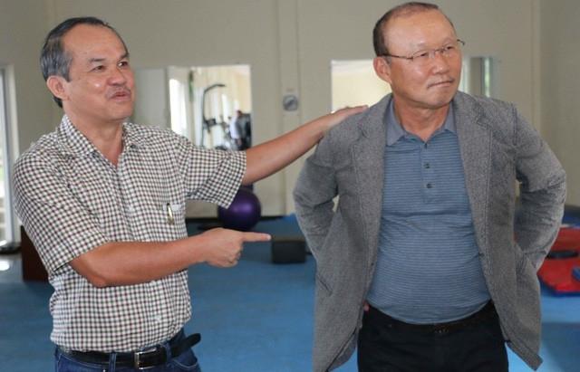 bau duc toi van san sang tra luong cho hlv park hang seo du khong con lam viec o vff