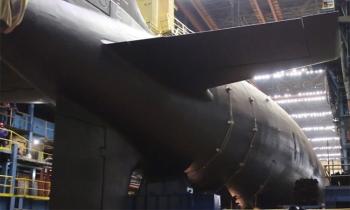 Nga hạ thủy tàu ngầm hạt nhân thế hệ mới