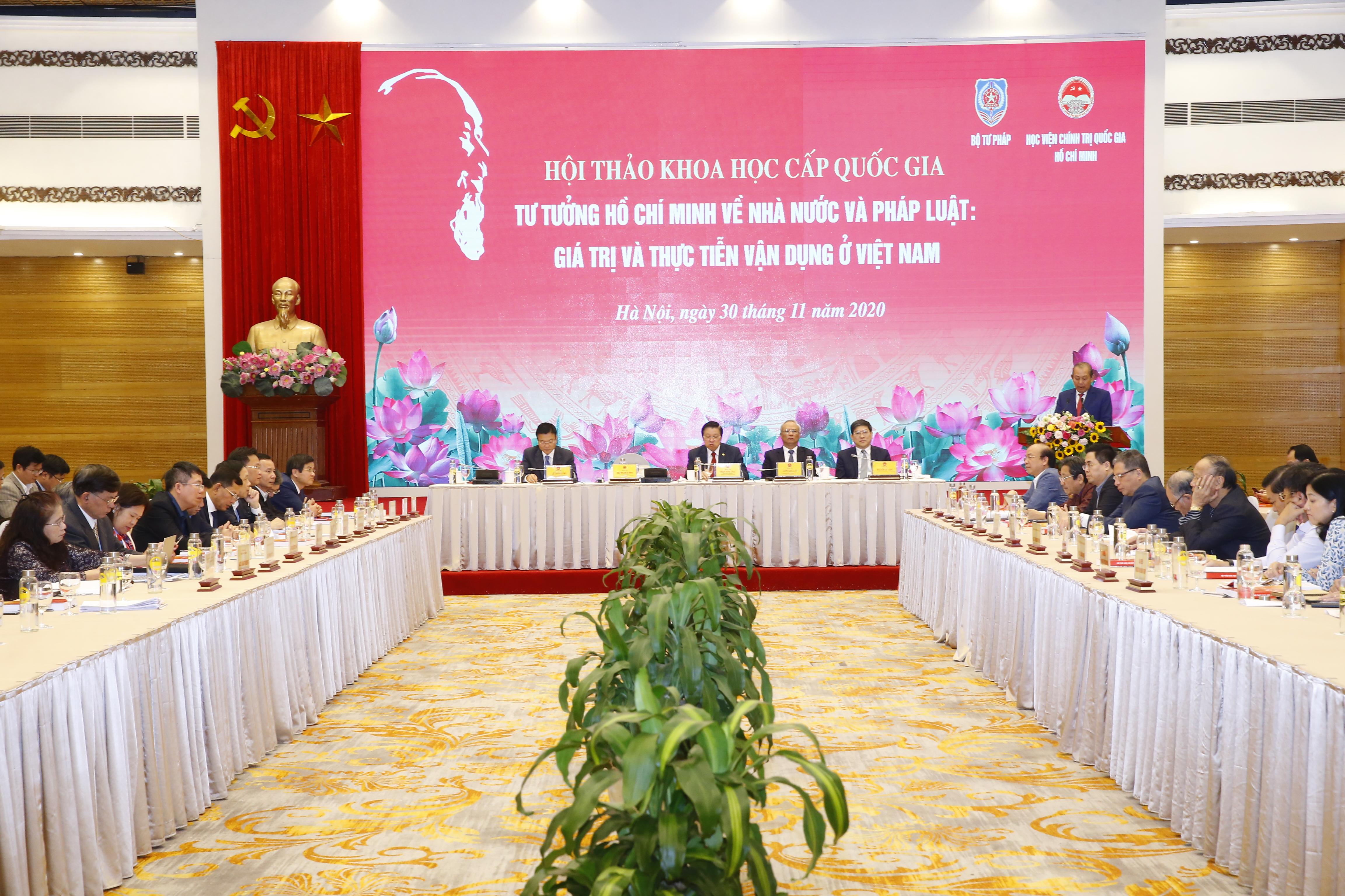 Phó Thủ tướng Thường trực dự Hội thảo khoa học cấp quốc gia về tư tưởng Hồ Chí Minh